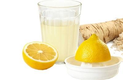 Лимон с хреном