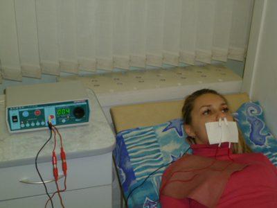 Лекарственный электрофорез носа