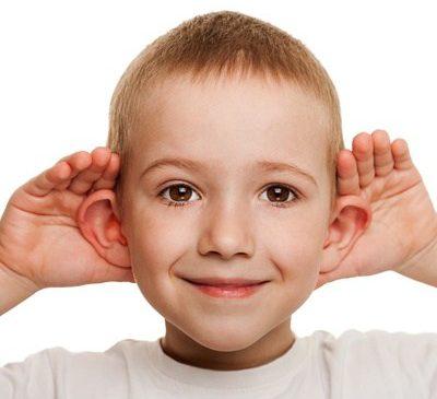 Ухудшение слуха у ребенка