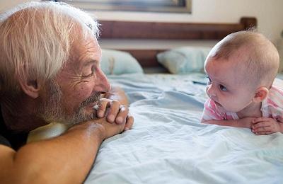 Старик и ребенок