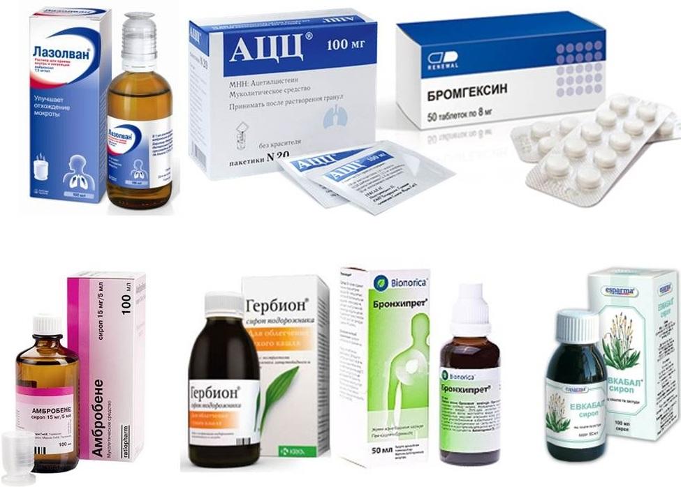 Лекарства муколитики