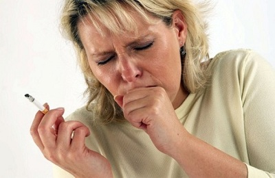 Как убрать кашель курильщика
