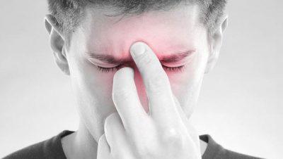 Боли в области носовых пазух